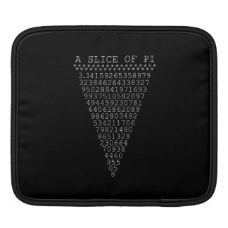 A Clever Slice of Pi Sleeve For iPads