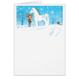 A Clip Clop Club Christmas Greeting Card