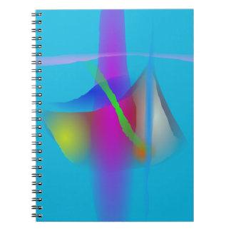 A Clock Spiral Notebook