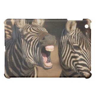 A close-up of a Zebra showing its teeth, iPad Mini Cases