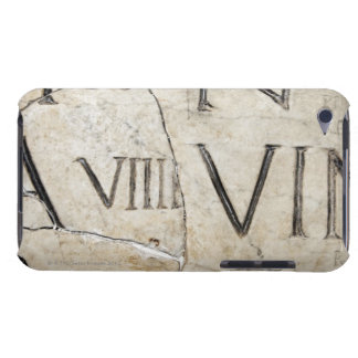 A close-up of ancient Roman letters on marble. Barely There iPod Cover