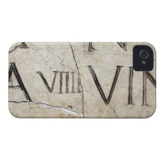 A close-up of ancient Roman letters on marble. iPhone 4 Case-Mate Case
