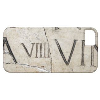 A close-up of ancient Roman letters on marble. iPhone 5 Covers