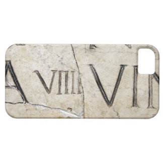 A close-up of ancient Roman letters on marble. iPhone SE/5/5s Case