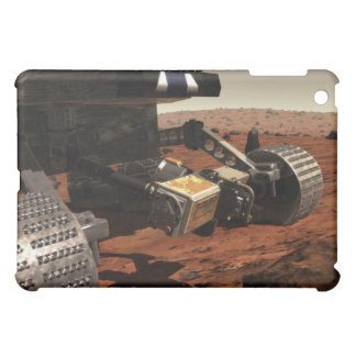 A close-up view of the arm on NASA's Mars iPad Mini Covers
