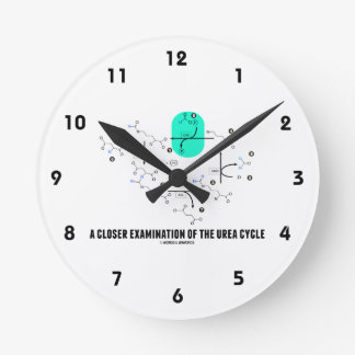 A Closer Examination Of The Urea Cycle Round Clock