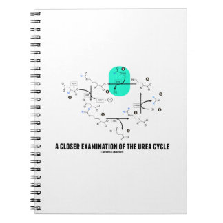 A Closer Examination Of The Urea Cycle Spiral Notebook