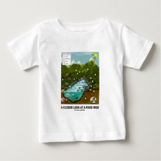 A Closer Look At A Food Web (Biology / Ecology) Baby T-Shirt