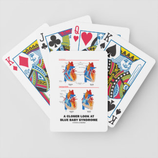 A Closer Look At Blue Baby Syndrome (Heart) Bicycle Playing Cards