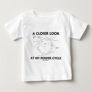A Closer Look At My Power Cycle (Krebs Cycle) Tee Shirts