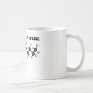 A Closer Look At Octane (Chemical Hydrocarbons) Coffee Mug
