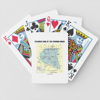 A Closer Look At The Permian Basin (Map) Bicycle Playing Cards