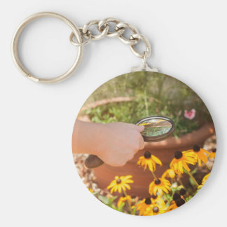 A Closer Look Keychain