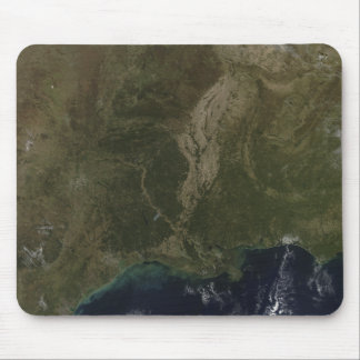 A cloud-free view of the southern United States Mouse Pad