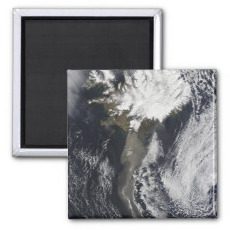 A cloud of ash 2 inch square magnet