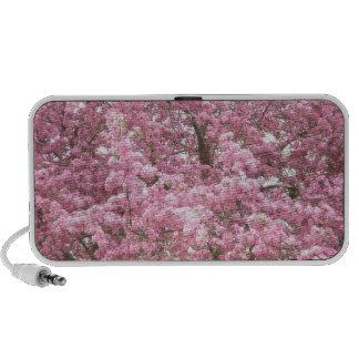 A Cloud of Crabapple Blooms Portable Speaker