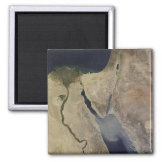 A cloud of tan dust from Saudi Arabia Magnet
