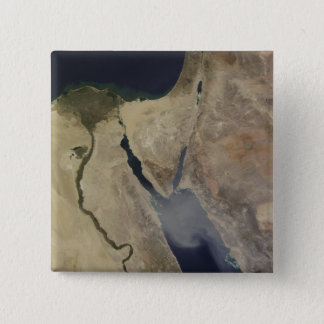 A cloud of tan dust from Saudi Arabia Pinback Button