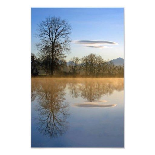 A Cloud Pays A Visit. Photograph
