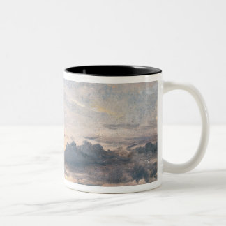 A Cloud Study, Sunset, c.1821 (oil on paper on mil Two-Tone Coffee Mug
