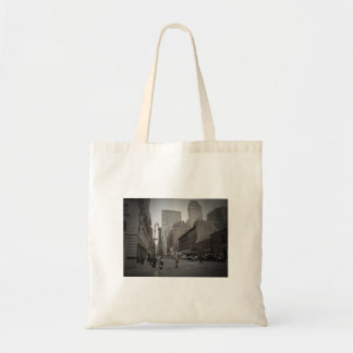 A Cloudy Day on the Upper East Side Canvas Bag