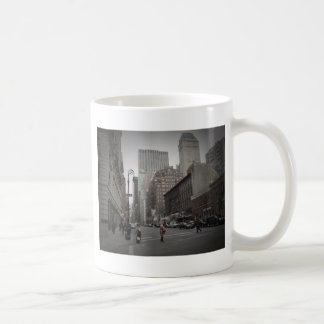 A Cloudy Day on the Upper East Side Coffee Mugs