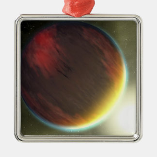 A cloudy Jupiter-like planet that orbits Ornament
