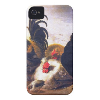 A cluch of Old Clucks iPhone 4 Cover