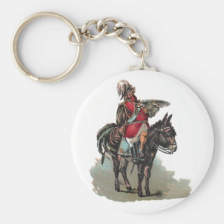 A Clucky Commander in Chief Key Chain