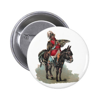 A Clucky Commander in Chief Pinback Button