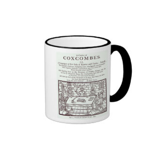 A Cluster of Coxcombes' by John Taylor Ringer Coffee Mug