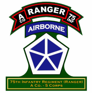 A Co, 75th Infantry Regiment - Rangers, Germany Cutout