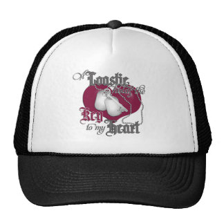 A Coastie holds the key to my Heart Trucker Hat