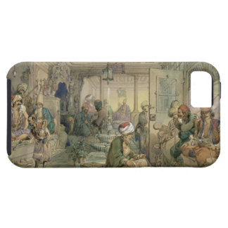 A Coffee House, Constantinople, 1854 (pen & ink & iPhone 5 Covers