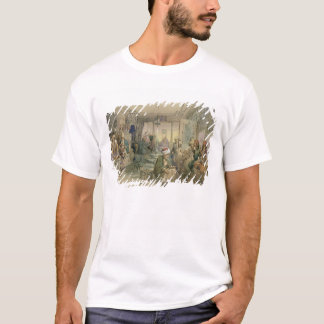 A Coffee House, Constantinople, 1854 (pen & ink & T-Shirt