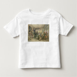 A Coffee House, Constantinople, 1854 (pen & ink & Toddler T-shirt