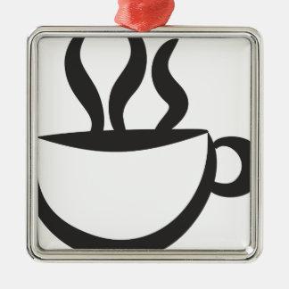 A coffee? metal ornament
