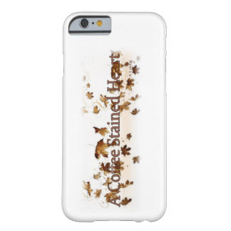 A coffee stained heart leaves case