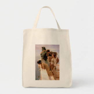 A Coign of Vantage Grocery Tote Bag