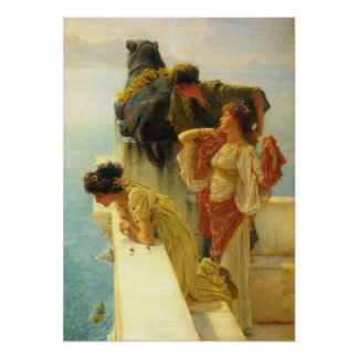 A Coign Of Vantage by Alma Tadema Poster