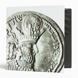 A coin depicting profile of Shapur II, Binder