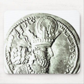A coin depicting profile of Shapur II, Mouse Pad