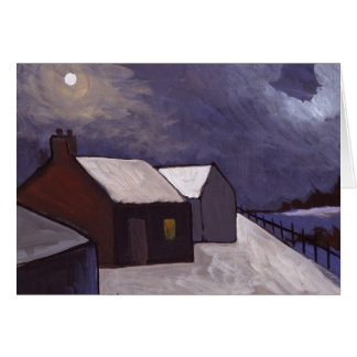 A COLD NIGHT CARD