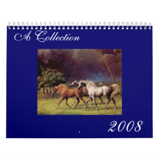 A Collection  2008 Calendar