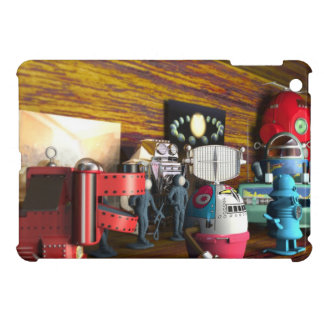 A Collection of 3D Vintage Space Toys iPad Mini Covers