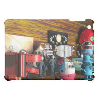 A Collection of 3D Vintage Space Toys Speck Case iPad Mini Covers
