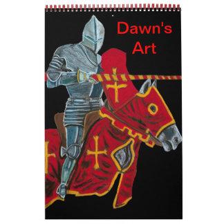 A Collection of Dawn's Art - callender Calendar