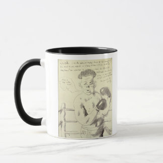 A Collection of Eight Illustrated Letters to his F Mug