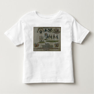 A collection of maneouvre plans toddler t-shirt