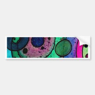 A Collision of Bubbles (2).tif Bumper Sticker